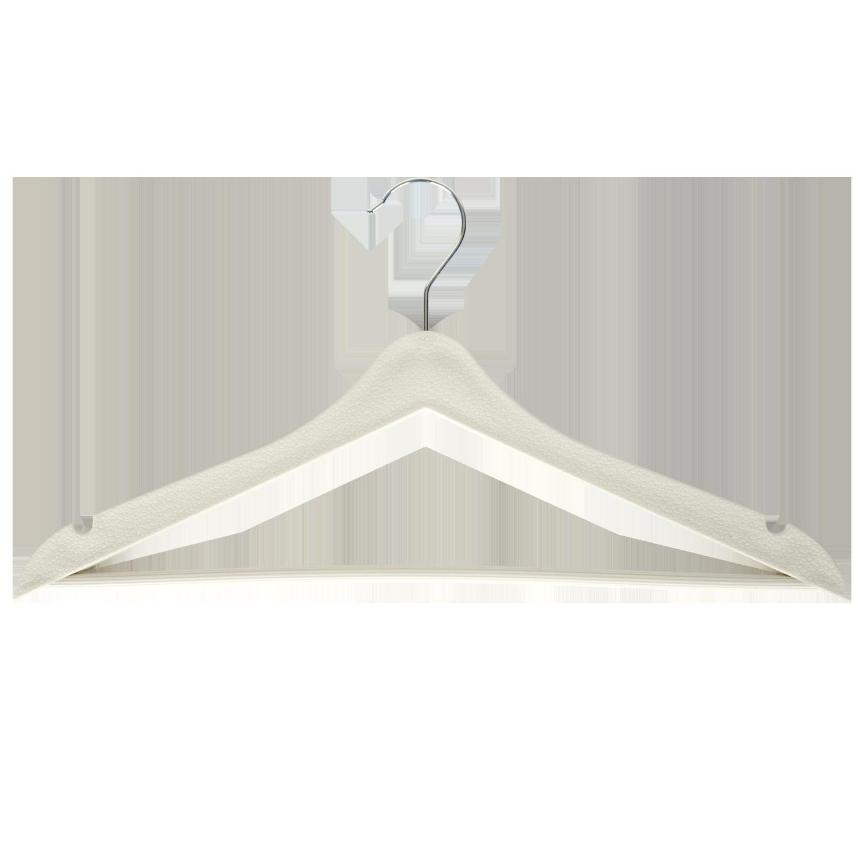 Beyaz Elbise Askısı - Aydo Home 3lü Elbise Askısı