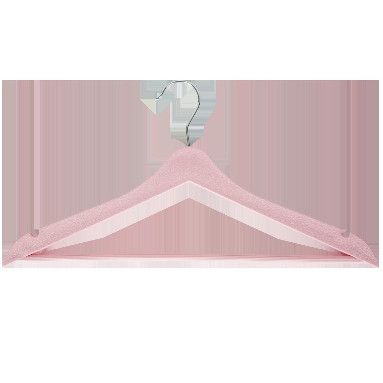 Pembe Elbise Askısı - Aydo Home 3lü Elbise Askısı