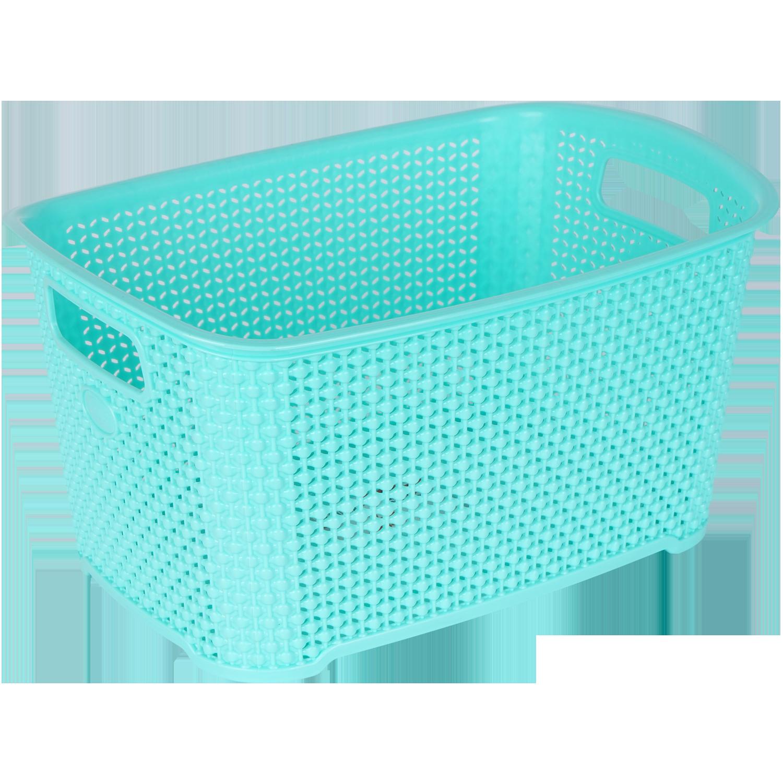 Çamaşır Sepeti, Plastik Çok Amaçlı Damla Desenli Sepet
